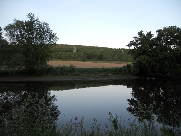 Chenango River in Norwich, NY