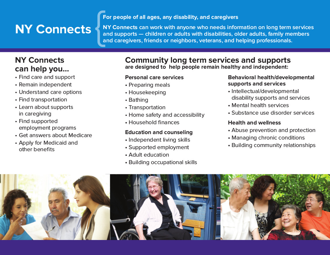 NY Connects Brochure Page 2