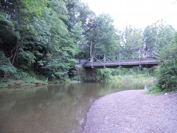 Red Mill Hill Bridge that was in Norwich, NY