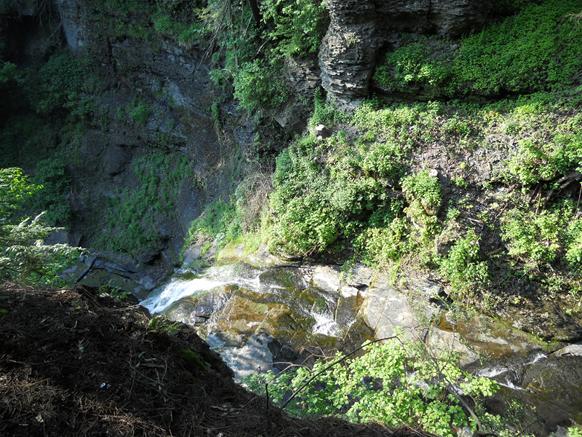 Rexford Falls in Sherburne, NY