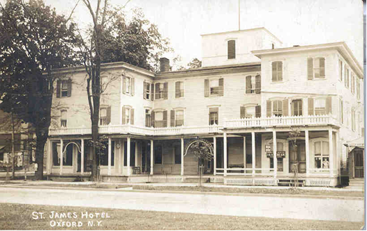 St. James Hotel - Oxford, NY